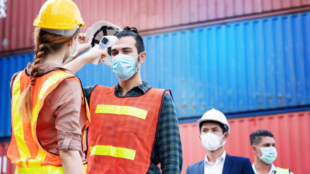 New normal for industrial factory